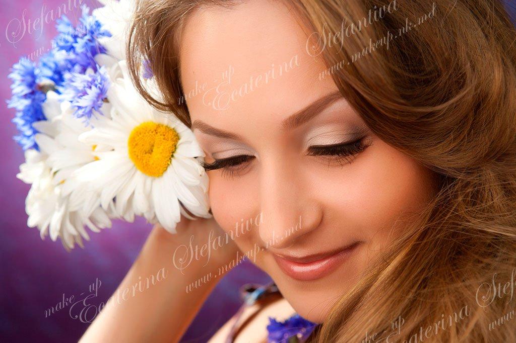 Machiaj De Zi Ecaterina Stefantiva дневной макияж